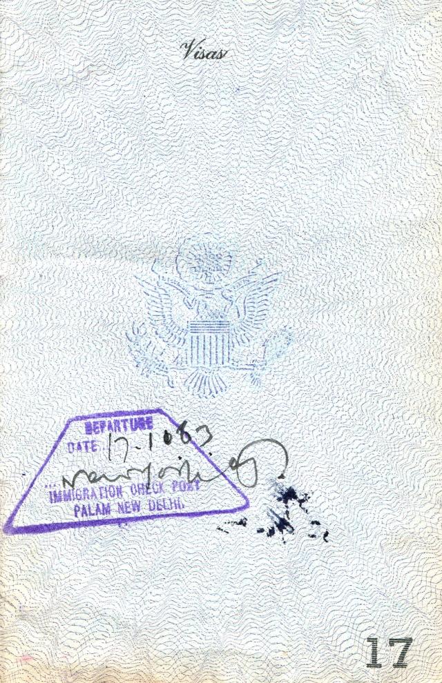 Passport India Exit