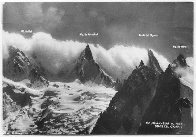 Dente del Gigante (postcard)