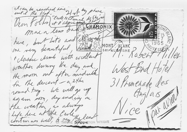 PostcardJorassesBack'65