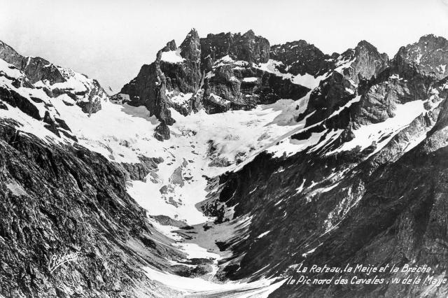 La Meije, Face Sud, (postcard)