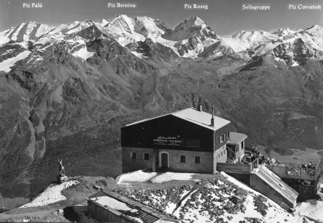 The St. Moritz area