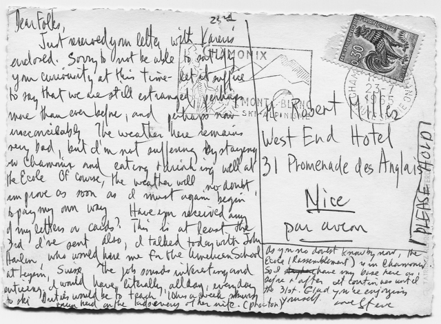PostcardS.FaceMt.BlancBack'65