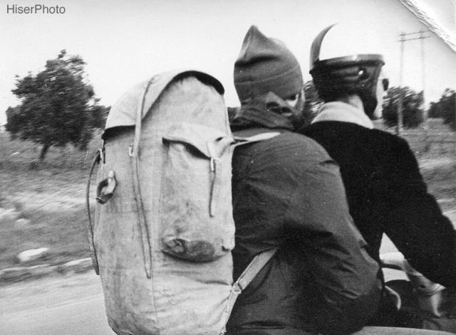 Hitch-hiking, Italy, Jan. 1962