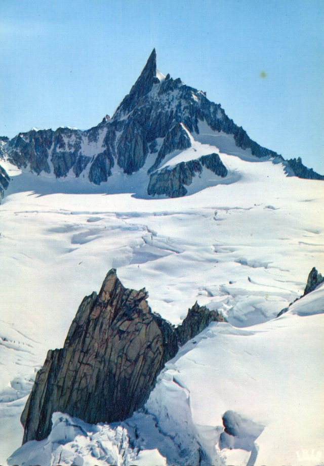Dent du Geant, 4013m
