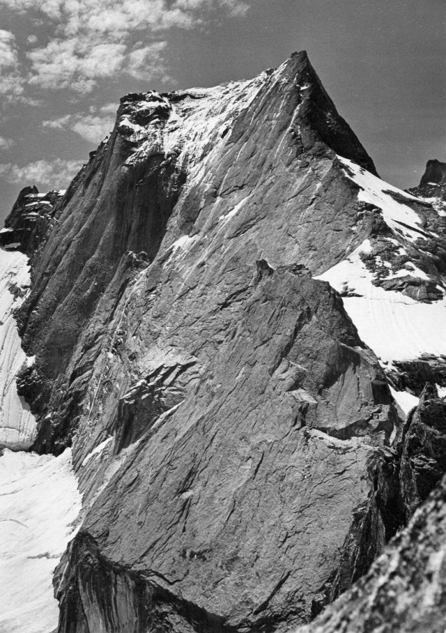 The Piz Badile, with it's famous North Face