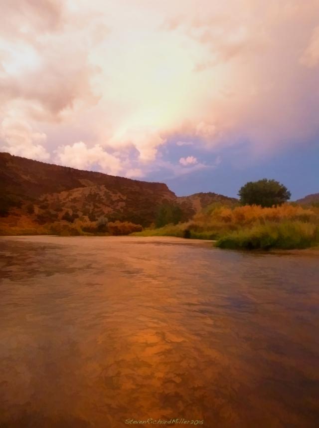Orilla Verde, Rio Grande del Norte NM, Sept. 06 2015
