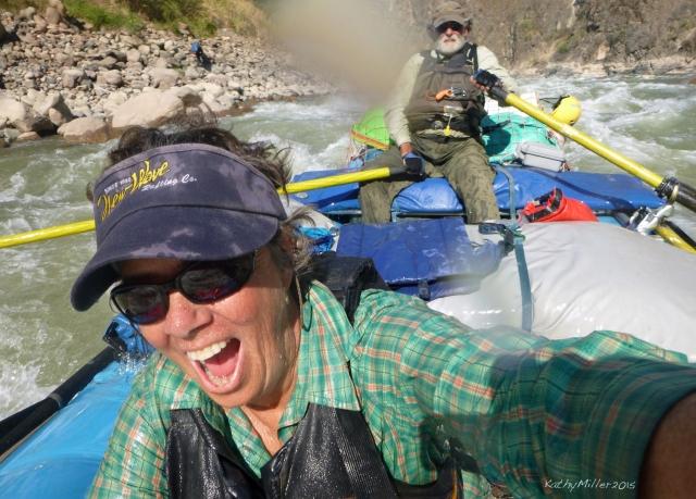 Kathy and Steve, on the Rio Marañon.