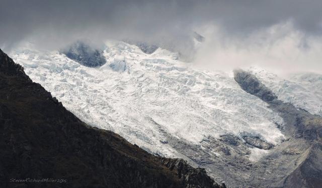 Huascaran Norte glacier