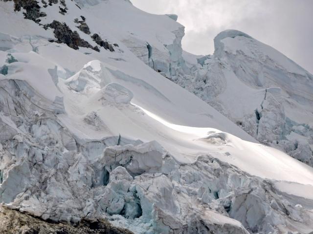 Yanapaccha glacier detail