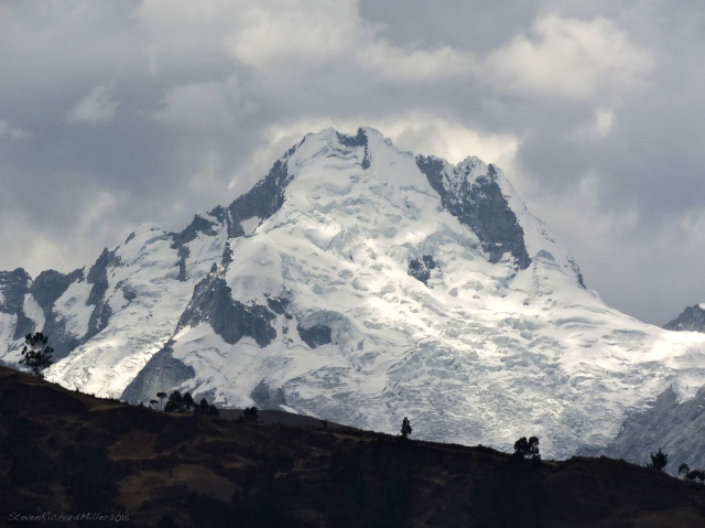 Cerro Shaqsha is seen to the east and a little south