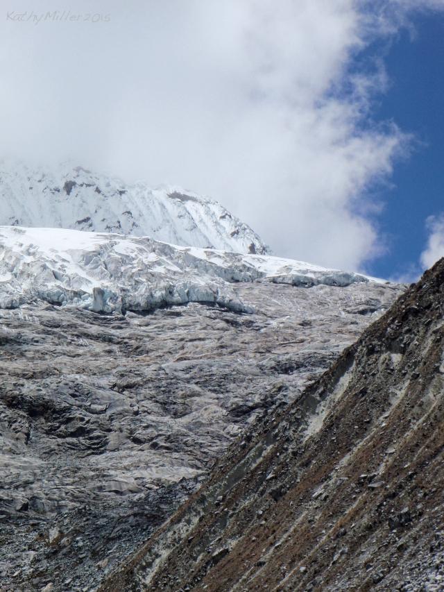 Chacraraju and glacier