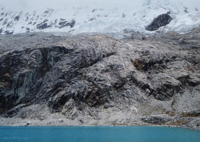 Chacraraju glacier