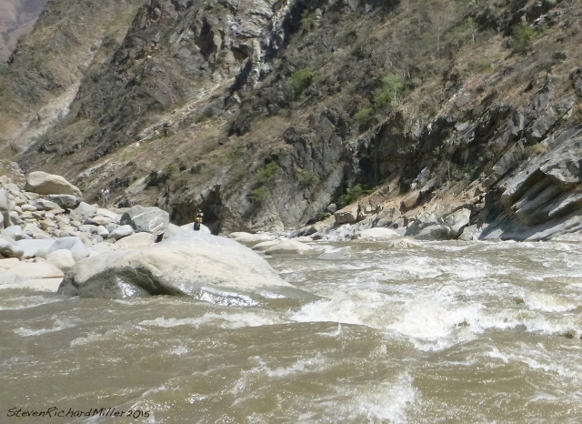 Llamara, top section