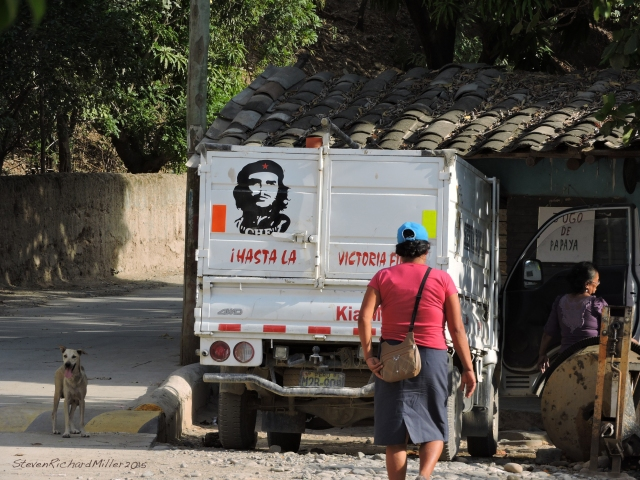 Chagual truck, with Che