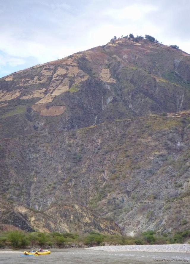 A canyonside village