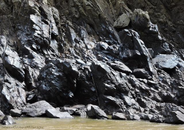 Polished rocks - perhaps quartzite