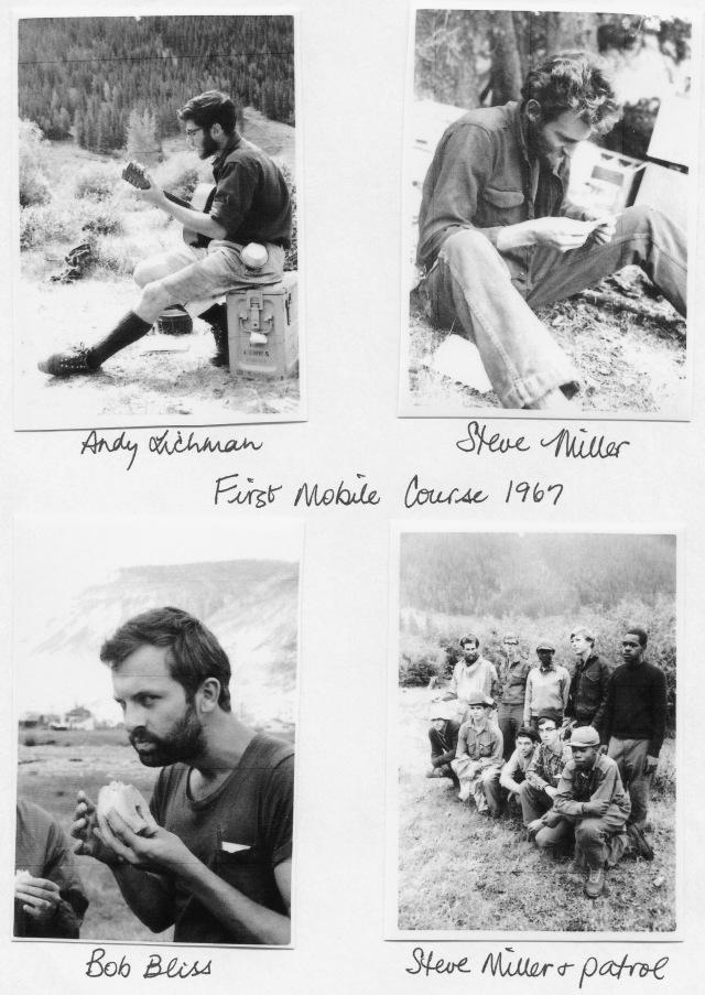 """Colorado Outward Bound School, first """"mobile"""" course in the san Juan Mountains of Colorado. Summer, 1967"""