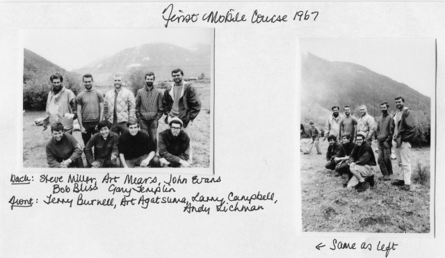 "Colorado Outward Bound School, first ""mobile"" course in the san Juan Mountains of Colorado. Summer, 1967"