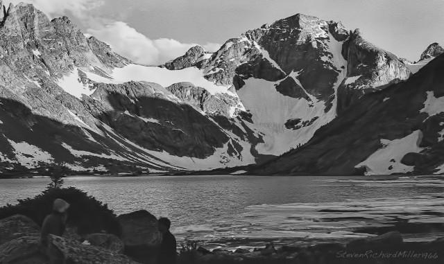 Moraine Lake and Mt. Lander