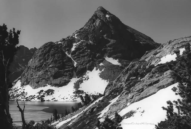 Lake Solitude and Petroleum Peak