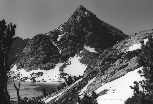 Lake Solitude and Petroleum Peak