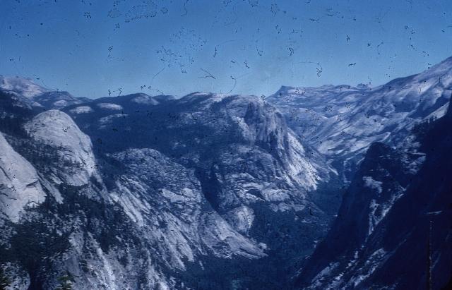 Yosemite Glacier Point View