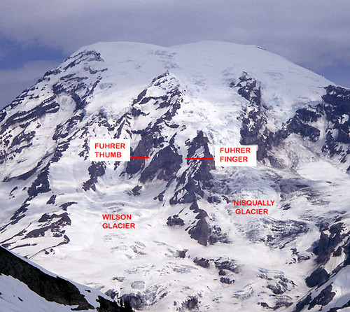 Mt. Rainier and Fuhrer Finger (www.summitpost.org)