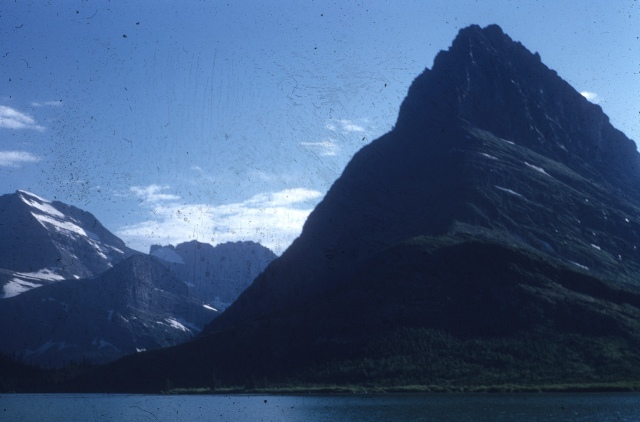 Swiftcurrent Lake and Mt. Wilbur