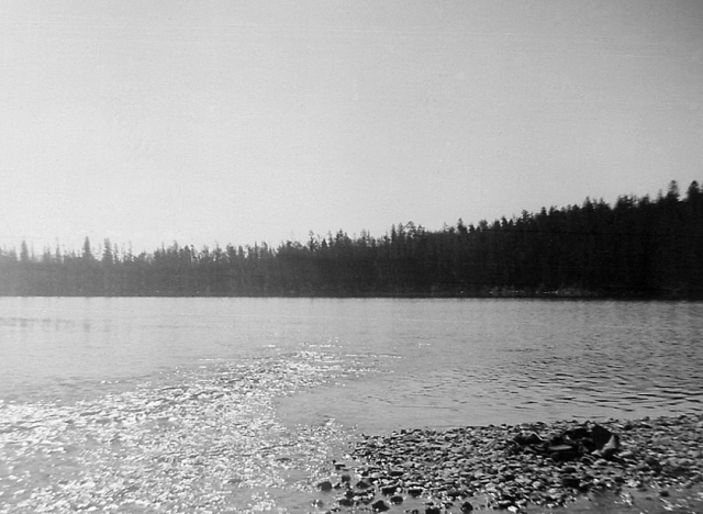 Bradley Lake. I went fishing at Bradley and Taggart lakes with Rick Horn