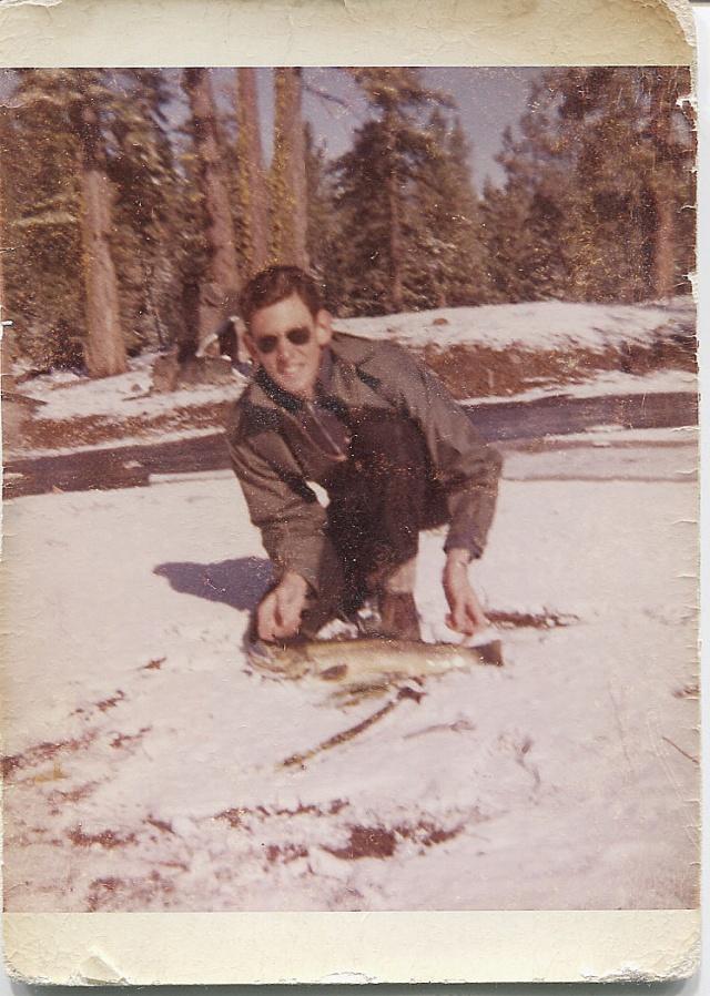 "Brown Trout, 22"", from Manzanita Lake"