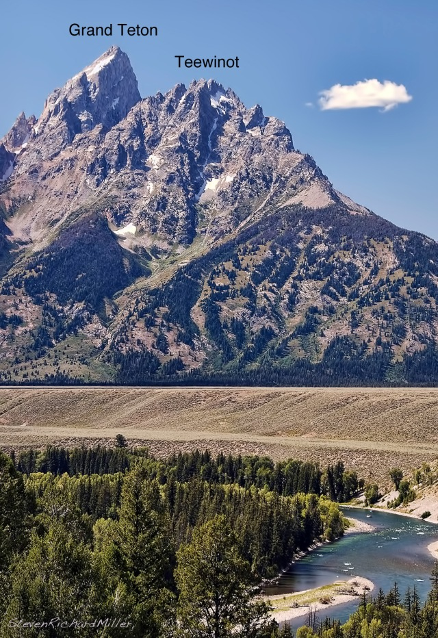 The Grand Teton and Teewinot, east faces