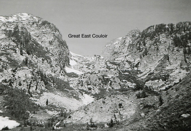 Great East Couloir