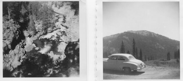 Hat Creek Gorge and Mt. Conrad