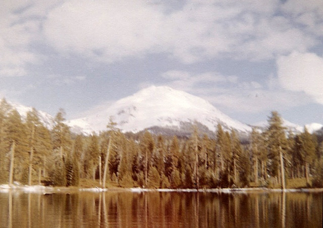 Manzanita Lake and Mt. Lassen