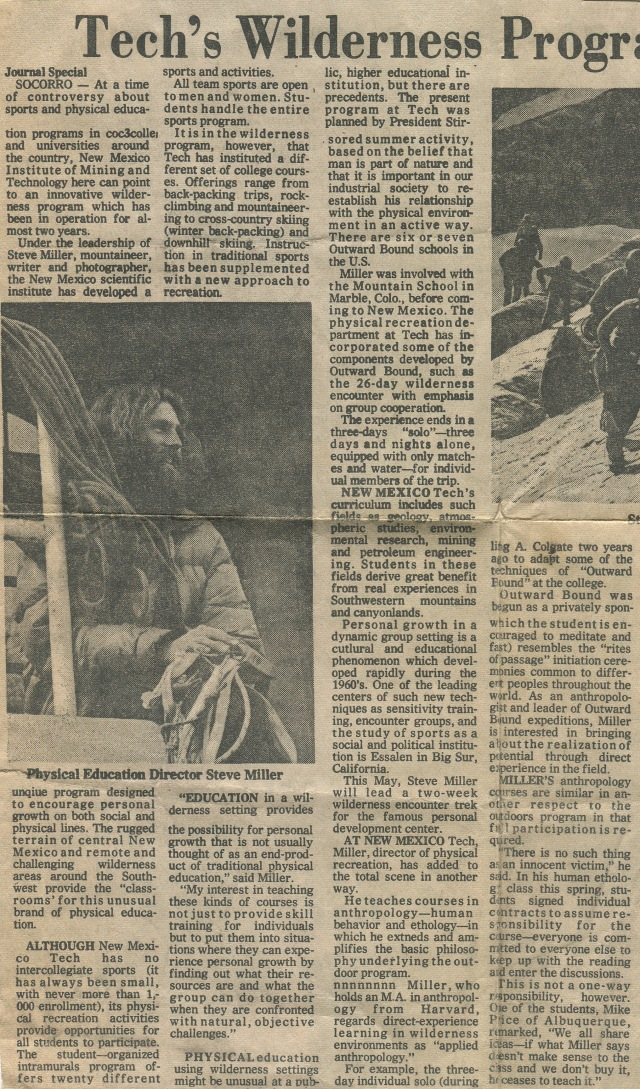 Newspaper article #1