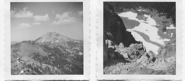 Mt. Lassen and Brokeoff Mtn.