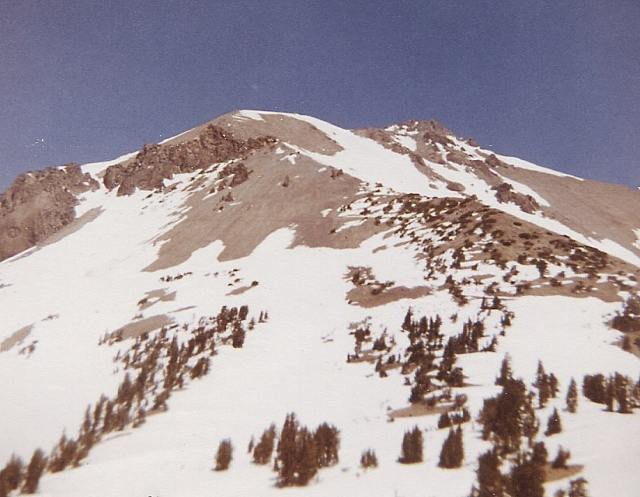 Mt. Lassen to the north