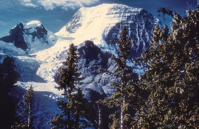 Mt. Robson, from the vicinity of Berg Lake