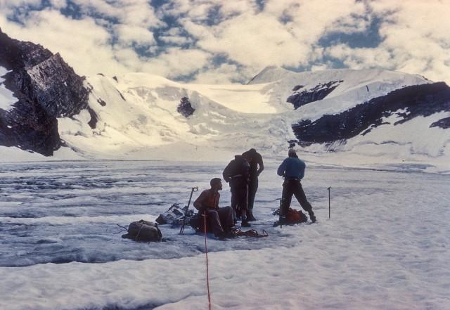 On the Robson Glacier