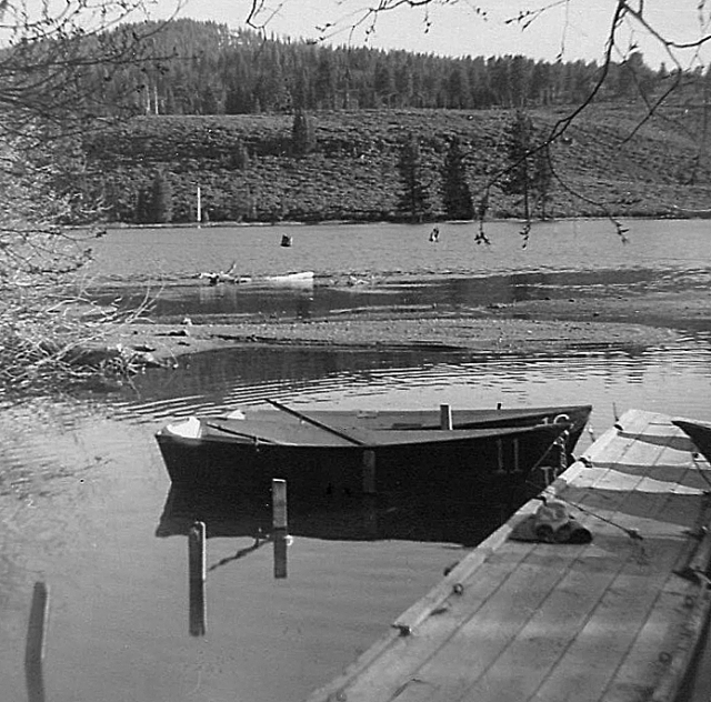 Rowboats, Manzanita Lake