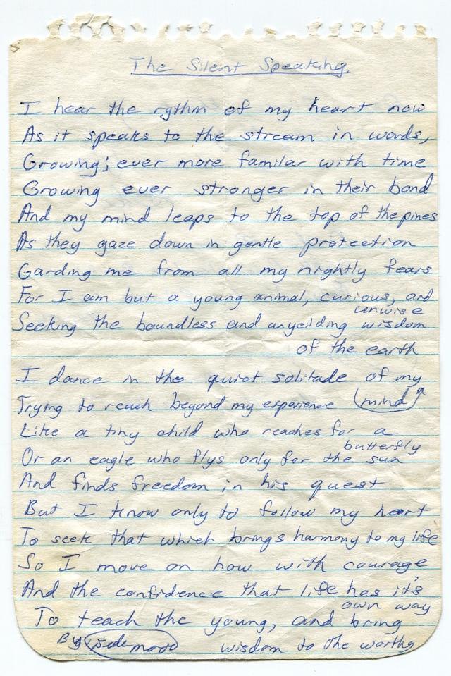 Dede's letter pg.1