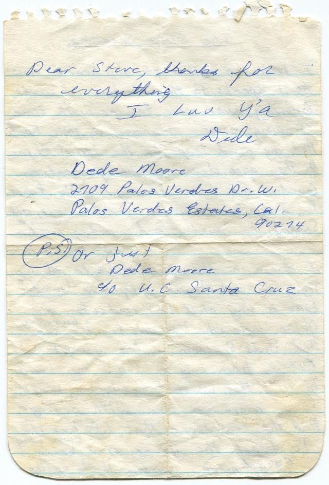 Dede's letter pg. 2