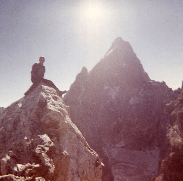 Teewinot summit, and the North Face of the Grand Teton