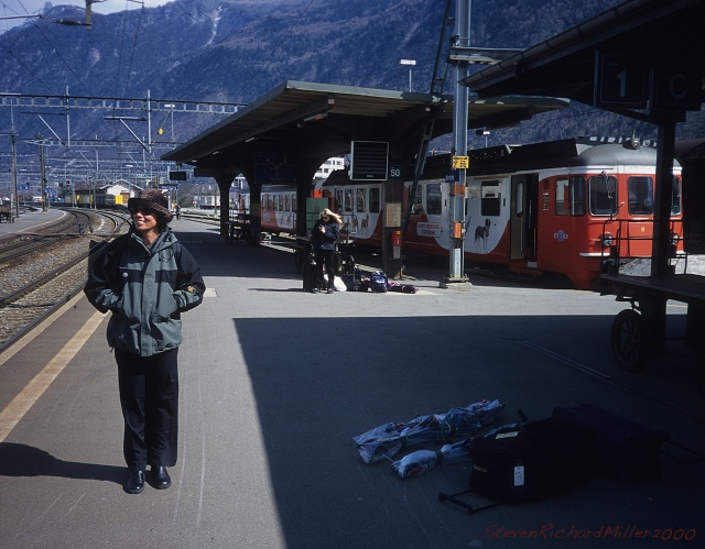 Train Station, Martigny