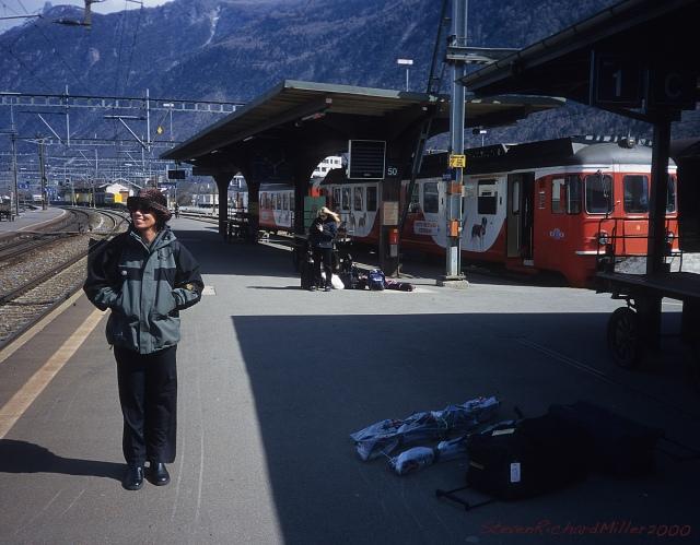 Train Station, Martigny