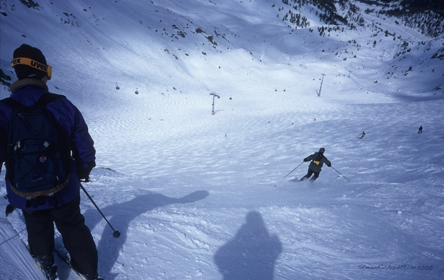 Skiing Chassoure