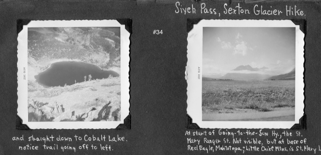 Two Medicine Pass and the start of the Siyeh Pass hike