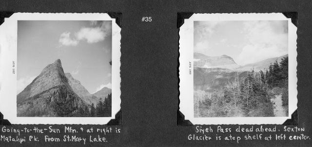 Glacier#35 Siyeh Pass