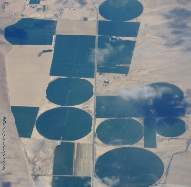 Irrigated acreage east of Owens Valley, CA