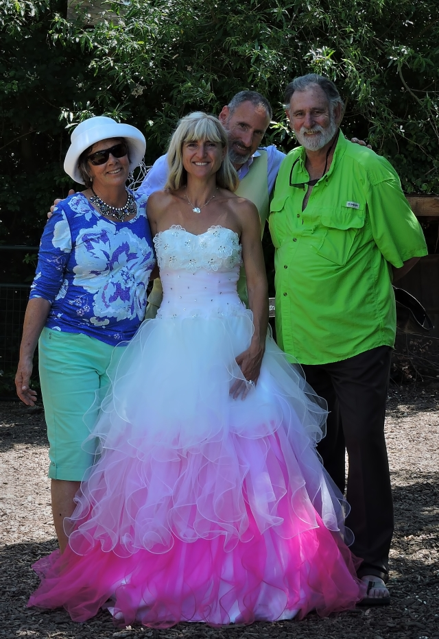 Kathy, myself and the newlyweds, Sunday